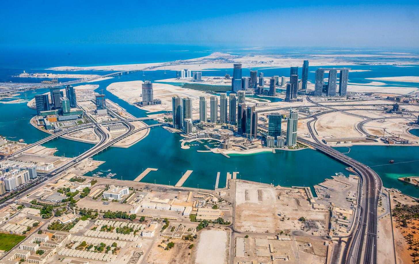 Abu Dhabi in aanbouw