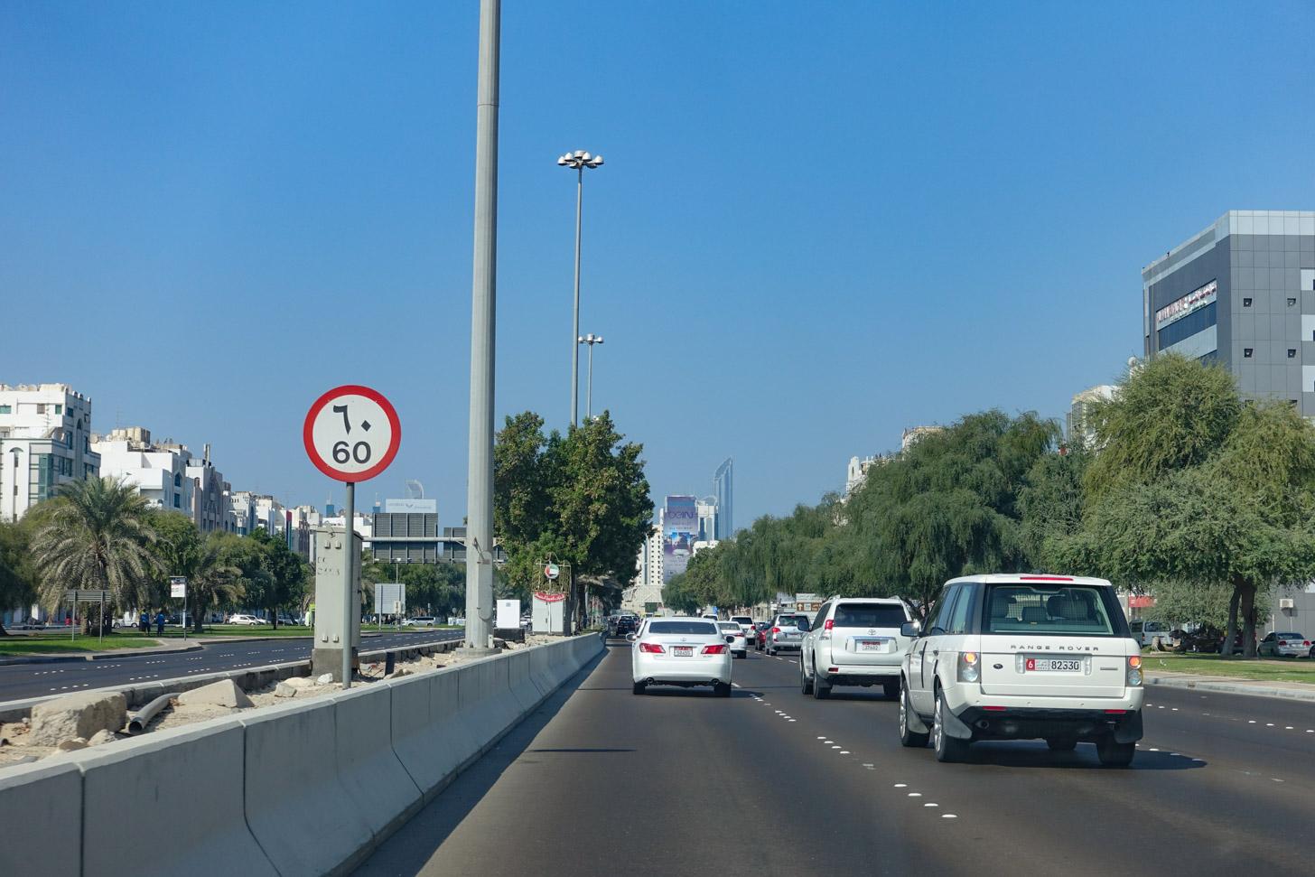 Autorijden in Abu Dhabi